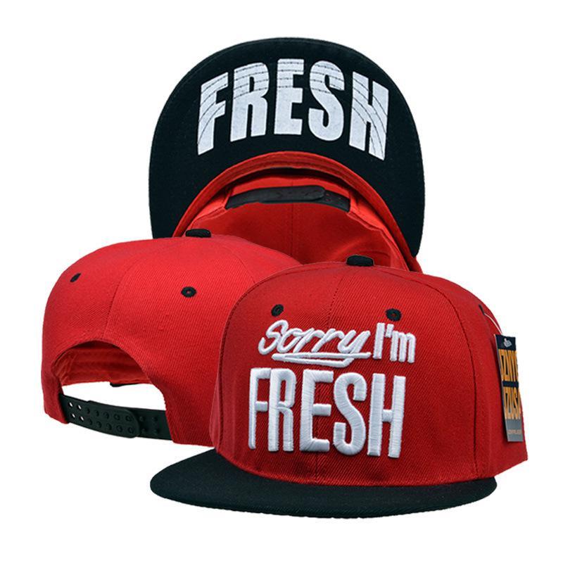 New Hip Hop Fresh Flat Bill Hats Snapback Cap Hip Hop Adjustable Baseball Cap  Hat For Men And Women 02a593f22ce