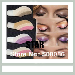 Wholesale Magic Instant Eye Shadow - Hot 3 pairs Instant Eyeshadow sticker, magic eyes tattoo ,eye shadow