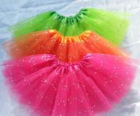purple fluffy skirts NZ - free shipping glitter ballet tutu for girls baby fluffy tutu skirt