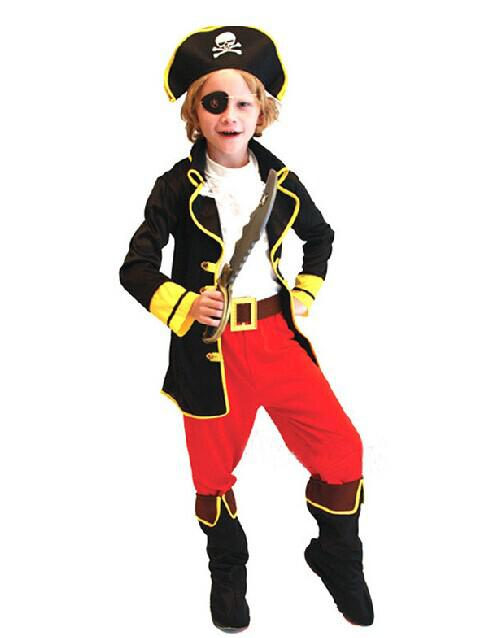 boys child kids pirates captain jack sparrow fancy dress costume 4 people costumes clever group halloween costumes from emmayu 2403 dhgatecom - Jack Sparrow Halloween Costumes