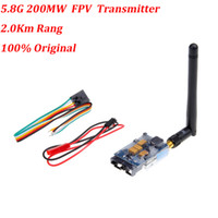 Wholesale Rc Range - 2014 Hot dji RC 5.8G 200MW Video AV Audio Video Transmitter Sender FPV 2.0Km Range TS351 100% Original RM423