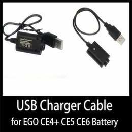 $enCountryForm.capitalKeyWord Canada - ecig usb charger for electronic cigarette battery ego t ego w ce4 atomizer Charger for e cig Battery E Cigarette by USB Charger CE check