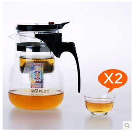 Wholesale Heat Tea Pot Set - free shipping Kamjove tp-757 tea cup tea pot elegant cup glass tea set glass cup