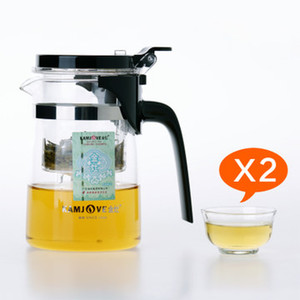 Wholesale Kamjove k tea cup tea pot elegant cup glass tea set glass cup