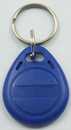 Wholesale Rfid Smart Tags - 20pcs bag RFID key fobs 125KHz proximity ABS key tags write writable tags access control with EM4305 chip