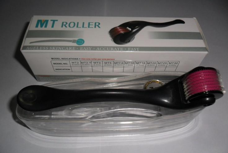 Einzelhandel MT 540 Medizinische Edelstahl Nadeln Derma Roller, Micro Nadel Narbe Entfernung, Dermaroller