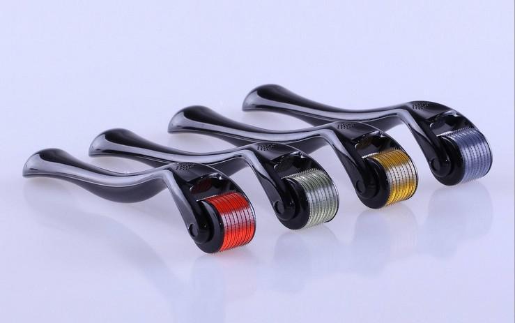 Retail MT 540 Medicinsk rostfritt stål Nålar Derma Roller, Micro Needle ärravlägsnande, Dermaroller