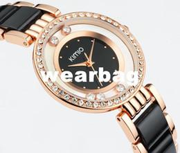 Wholesale Eyki Kimio Watches - Wholesale-Eyki watch Kimio Brand Watches Women Fashion ladies crystal clock fashion watch black luxury women rhinestone watches