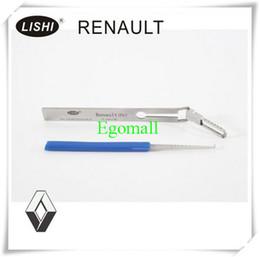escolha a ferramenta renault Desconto 100% Genuie Lishi serralheiro ferramenta de bloqueio pick Lishi Picks RENAULT (Fr) A227