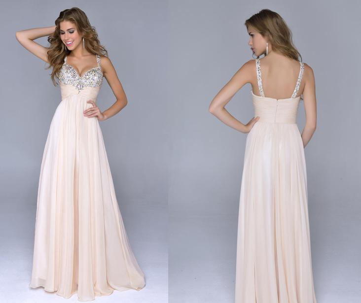 Long Ball Dresses with Straps