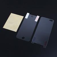 iphone lcd anti-reflexo venda por atacado-200 pçs / lote = 100 frente + 100 de volta de corpo inteiro lcd matte anti reflexo protetor de tela film para iphone 4 4g 4s 5 5g 5s 5c nenhum pacote de varejo