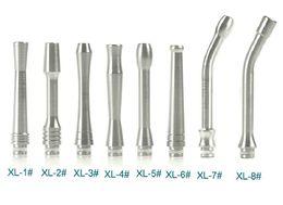 Lange rohrstiele online-65 mm langes gebogenes Edelstahlrohr 510 Tropfspitze 90 mm gebogen gebogen für wiederaufbaubaren Zerstäuber