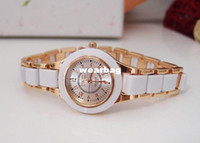 Wholesale Holiday Watches - Wholesale-holiday sale Luxury Brand Crystal watches women ladies rhinestone dress High quality quartz wristwatch TW016