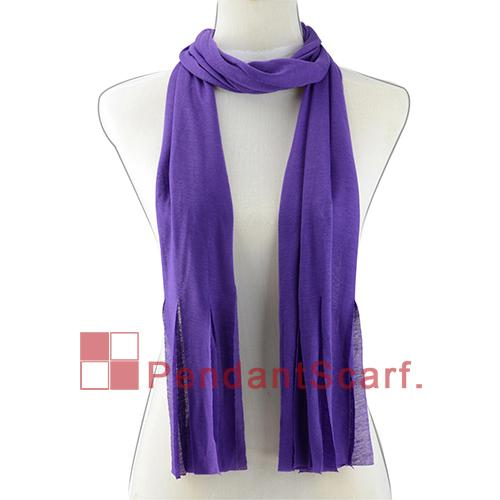 / 20 Farben vorhanden DIY hängender Schal-Gewebe-weicher fester Polyester-Quasten-Schal-Halsketten-Schal-Verpackung, freies Verschiffen, SC0014MIX