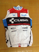 Wholesale Maillot Cube - 2012 CUBE Cycling Vest Sleeveless Jersey Only bicycle clothing Ciclismo Maillot