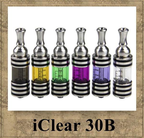 Innokin iClear30B Zerstäuber Original itaste 30 B Clearomizer Dual Coil Austauschbare Unterseite 3ml Edelstahl Prex Glas Tank Rohr vapore