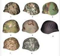 Wholesale Wholesale Airsoft Helmets - 2pcs Tactical Standard troops helmet cover for M88 helmet Airsoft