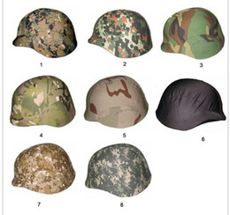 Wholesale Tactical Airsoft Helmets Wholesalers - 2pcs Tactical Standard troops helmet cover for M88 helmet Airsoft