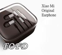 Wholesale Xiaomi M1 Shipping - Original XIAOMI Piston Earphone 2 II Headphone Headset Earbud with Remote & Mic For MI2 MI2S MI2A Mi1S M1 Hongmi 15pcs up free shipping
