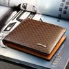 2017 Male Genuine Leather luxury wallet Casual Short designer Card holder pocket Fashion Purse wallets for men free shipping
