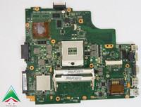 Wholesale intel laptop boards for sale - Group buy k43sv main board for asus k43sj laptop motherboard nvidia GT520 G rev