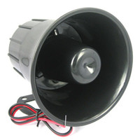 Wholesale Security Alarm Horns - Home and Office Wired Siren Horn with Bracket for Security Protection Siren Horn Emits Alarm Sounds of 110 db ACA_408