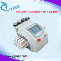 Wholesale Cavitation Pads - 8pcs lipolaser pads lipo laser machine vacuum face body rf cavitation body slimming machine