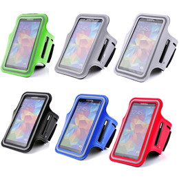 Wholesale Armbands S3 - For Galaxy S3 S4 S5 Fashion Sport Gym Running Armband Protector Belt Soft Case Cover for Case For Samsung Galaxy S3 i9300 S4 i9500 S5 i9600