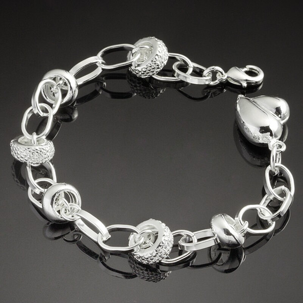 Women 925 Silver Jewelry Bracelet Costume Jewelry Hand Chain Noble Romantic Accessories Head Chain Jewelry Findings In Bulk 2014 Fashion G32
