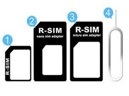 t мобильный iphone 4s Скидка Бесплатная доставка 4 в 1 комплект адаптер SIM-карты с ключом извлечения PIN-код для iPhone 5 4 4S Розничная упаковка, 10 шт. / Компл.