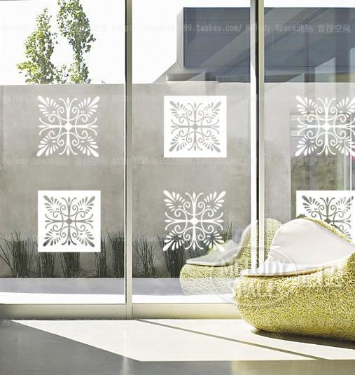 Compre Envío Gratis Nuevo Diseño Autoadhesivo Película De Ventana De Vinilo Clásico Patrón Decorativo Decoración De Pared Pegatina De Vidrio A