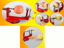 Wholesale Tool Peeling Apples - 3 In 1 Apple Peeler Slicer Fruit Cutter Corer Coring Machine Peel Kitchen Tool(FREE SHIPPING)