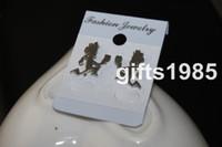 Wholesale Clown Earrings - ICP Insane Clown Posse 1inch hatchetman Stainless Steel Earrings shipping free