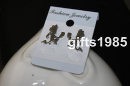 Wholesale Icp Hatchetman - ICP Insane Clown Posse 1inch hatchetman Stainless Steel Earrings shipping free