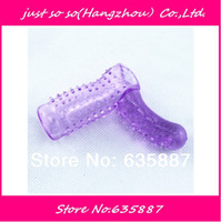 Wholesale Wholesale Sexual Health - [ Love ] Crystal G spot long finger sets sex toys adult sex couples sexual health products wholesale suppliesNew Arriving