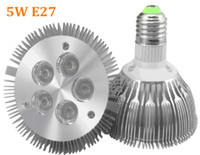 Wholesale Par Profile - High Quality LED Light Par 30 led 5w Spotlight E27 E26 Par30 85~265V Cool White Warm White Aluminium Profile Shell spotlight Lamp for home