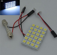 10pcs T10 24SMD 5050 3 Chips LED helle Girlande-Auto-Leuchte T10 Birnen-Lampe Lampe Leselampe Weiß