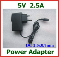 Wholesale M8 Pro - 5V 2.5A 2.5x0.7mm Charger EU US Plug Power Supply for Android Tablet PC PIPO M8HD M9 M9 pro M8 pro M1 Pro Ramos W30 W32 W41 Power Adapter