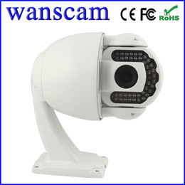 Wholesale Network Security Megapixel Camera - HW0025 Pan Tilt PTZ IR Cut Night Vision 40m H.264 Megapixel 720P High Definition Outdoor Security CCTV Network IP Cameras