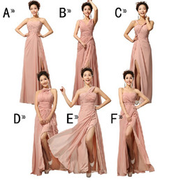 Wholesale Mix Style Sexy - Special Offeri!CUSTOM New Mix style split Long bridesmaid dresses sweep train, Graduation prom dress cocktail sexy dress evening dress