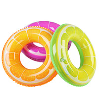 Wholesale Increase Ring - 2014 New Qi Cai Bei Child Adult 3D stereoscopic orange buoy swim ring swimming laps increased thickening