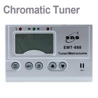 Wholesale Wholesale Generators - 3in1 Digital LCD Automatic Universal Chromatic Tuner Metronome Tone Generator with Mic I180