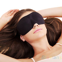 Wholesale Eye Shade Mask Blinder - Sleeping Eye Mask Blindfold with Earplugs Shade Travel Sleep Aid Cover Light guide Rest 3D Blinder Shade Sale Safety