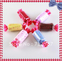 Wholesale Sweet Cake Towel - CANDY TOWEL CAKE FAVOR FAVORS WEDDING SWEET~ free shipping#8437