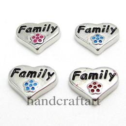 """Wholesale Bracelets Connectors Charm Heart - 10PCS!! 8MM """"Heart"""" Floating charms Mix Color ,Zinc Alloy Fit Floating lockets & Floating locket bracelet LSFC010*10"""
