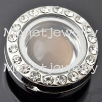 charm pulsera flotante cuero al por mayor-J00047 venden al por mayor 2015 el más nuevo diseño más nuevo noosa encanto flotante medallón apto para pulsera de cuero noosa