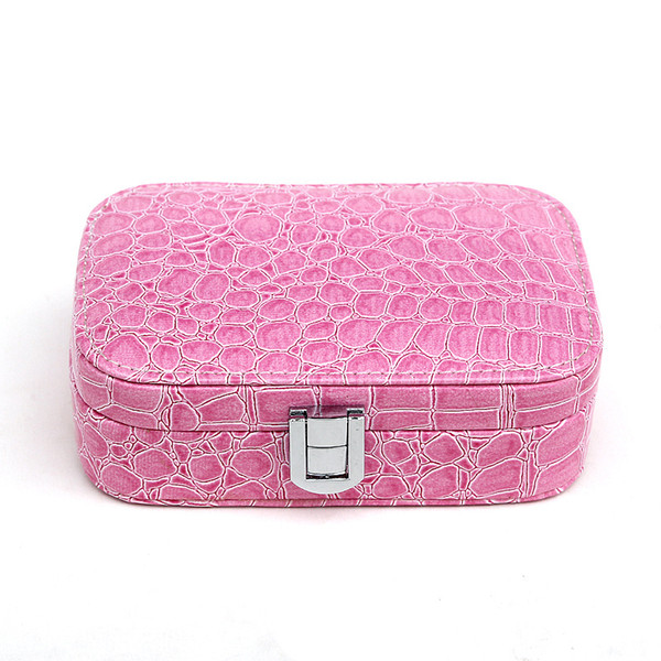 Portable leather jewelry box Suitable for all kinds of gifts/6 colors in stock 10pcs/lot drop shipping