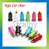 Wholesale Ego Usb Car - Hot sale Electronic cigarette Battery Car charger ego t E Cig USB Charger Car Charger Wall Charger for EGO E-Cigarette Accessories dhl free