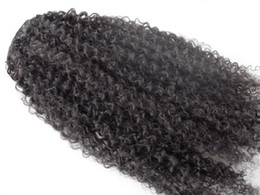 $enCountryForm.capitalKeyWord Canada - New Brazilian Curly Hair Weft Ciip In Kinky Curl Weaves Unprocessed Natural Black Color Human Extensions Can Be Dyed 1Piece