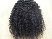 Wholesale Natural Kinky Curly Malaysia - malaysia kinky curly hair weaves afro hair products natural black human hair extensions1 bundles one lot beauty weft